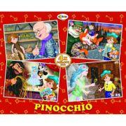 Puzzle Pinocchio. 4 imagini