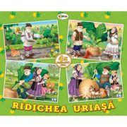 Puzzle Ridichea. 4 imagini