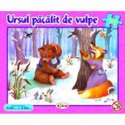 Puzzle Ursul pacalit de vulpe