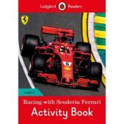 Racing with Scuderia Ferrari Activity Book