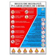 Reguli de siguranta in laboratorul de chimie (CH1)