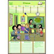 Sala de clasa / Comunicarea nonverbala (DUO) - Plansa cue 2 teme distincte (CP2)