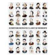 Scriitori romani clasici si moderni (36 portrete) - Galerie de portrete (PLR2-1)