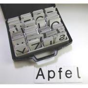Set litere magnetice - 340 de carduri magnetice cu litere mari si mici