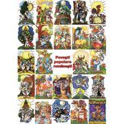 Set Povesti populare romanesti (14 povesti, 24 imagini)