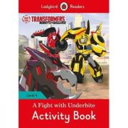 Transformers. A Fight with Underbite Activity Book