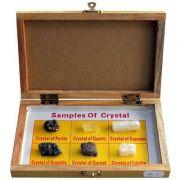 Trusa - Cristale minerale, 6 specii
