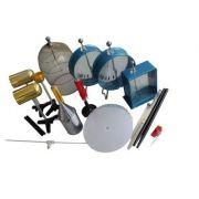 Trusa de electrostatica (DR) - contine echipamente si dispozitive necesare pentru realizarea si demonstrarea unor legi ale electrostaticii