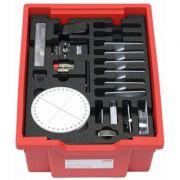 Trusa optica 1 - contine echipamente si dispozitive pentru realizarea unor experimente privind demonstrarea legilor de baza ale opticii geometrice