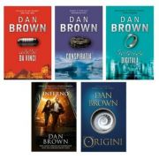 Set 5 volume Dan Brown, Editura Rao