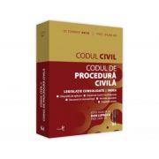 Codul civil si Codul de procedura civila: octombrie 2019. Editie tiparita pe hartie alba - Prof. univ. dr. Dan Lupascu