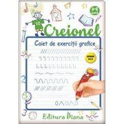 Creionel - caiet de exercitii grafice 4-5 ani - Laurentia Culea