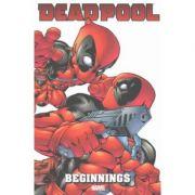 Deadpool: Beginnings Omnibus - Rob Liefeld, Fabian Nicieza, Jeph Loeb