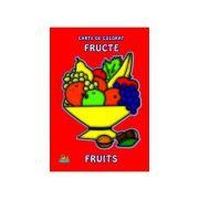 Fructe - Carte de colorat