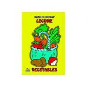 Legume - Carte de colorate