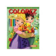 Marioara si Ionut. Colorez fructe - Petru Ghetoi