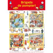 Plansa. Brigada de pompieri