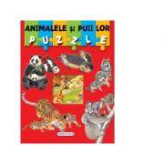 Puzzle animalele si puii lor
