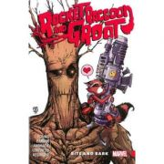 Rocket Raccoon & Groot Vol. 0: Bite And Bark - Brian Michael Bendis, Skottie Young, Jeff Loveness