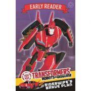 Transformers Early Reader: Sideswipe's Brave Plan - John Sazaklis