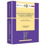 Actualitati si perspective in legislatia romana - Olimpiu Sabau-Pop