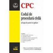 Codul de procedura civila si Legea de punere in aplicare - Evelina Oprina