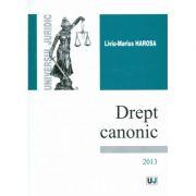 Drept canonic - Liviu-Marius Harosa