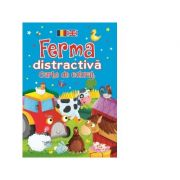 Ferma distractiva. Carte de colorat (romano-engleza) - Brown Watson