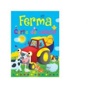 Ferma. Carte de colorat - Brown Watson