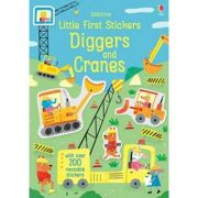Little First Stickers Diggers and Cranes (Little First Stickers) - Hannah Watson