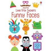 Little First Stickers Funny Faces (Little First Stickers) - Krysia Ellis