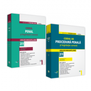 Pachet Codul penal si Codul de procedura penala. Editie PREMIUM 2019 - Dan Lupascu