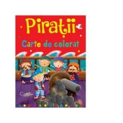 Piratii. Carte de colorat - Brown Watson