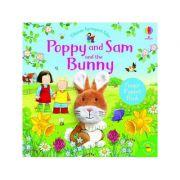 Poppy and Sam and the Bunny (Poppy and Sam Finger Puppet) - SAM TAPLIN