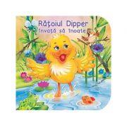 Ratoiul Dipper invata sa inoate