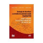 Strategia de dezvoltare a serviciilor de asistenta sociala in judetul Dolj. Studiu sociologic in localitatile urbane mici din judetul Dolj - Gabriel Pricina, Florin Stancu, Gabriela Motoi