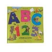 ABC si 123. Litere si cifre. Bebe invata