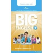 Big English 1 Pupil's eText access code (standalone)