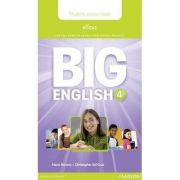 Big English 4 Pupil's eText Access Code (standalone)
