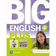 Big English Plus BrE 4 Test Book and Audio Pack