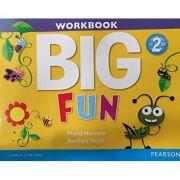 Big Fun 2 Workbook with Audio CD - Mario Herrera
