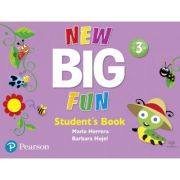 Big Fun Refresh Level 3 Student Book and CD-ROM pack
