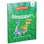 Dinozauri. Ador sa colorez
