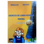 Exercitii de limba romana pentru cls 3 - Mihaela Lica, Irina Nuta