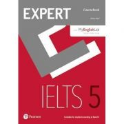 Expert IELTS 5 Coursebook Online Audio and MyEnglishLab Pin Pack - Elaine Boyd