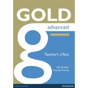 Gold Advanced Teacher's eText - Sally Burgess, Amanda Thomas