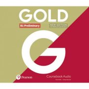 Gold B1 Preliminary Audio CD, 2nd Edition - Clare Walsh, Lindsay Warwick