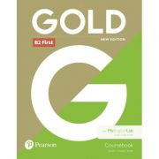 Gold B2 First Student Book with MyEnglishLab, 6th Edition - Jan Bell, Amanda Thomas