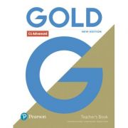 Gold C1 Advanced New Edition Teacher's Book with Portal access and Teacher's Resource Disc Pack - Clementine Annabell