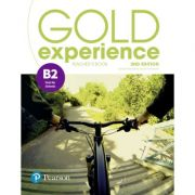 Gold Experience B2 Teacher's Book with Online Practice and Presentation Tool, 2nd Edition - Lynda Edwards, Jacky Newbrook